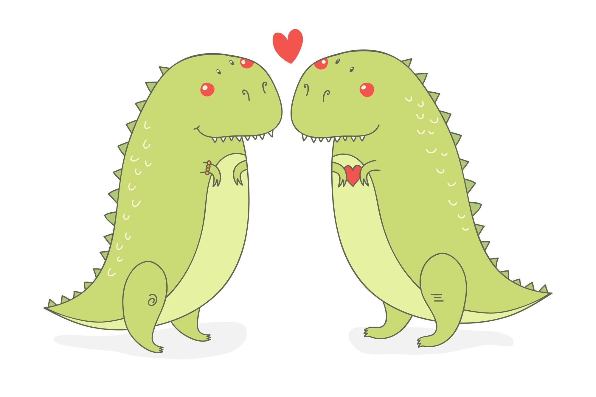 """""""Dinosaurios enamorados"""", la canción viral interpretada por una nena de 3 años"""