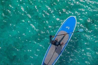 Actividades acuáticas en la exclusiva isla Mustique