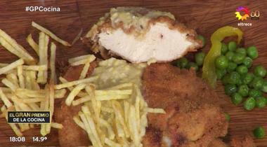 Este plato de milanesa es el que generó el diálogo que activó que Luis le pida a Carina que lo invite a su casa.