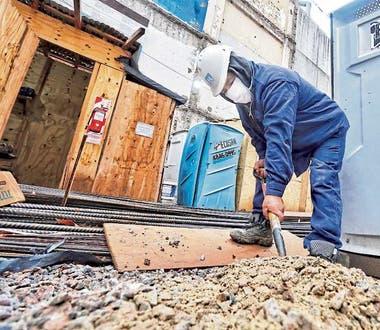 El sector de la construcción, uno de los más castigados