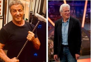 Sylvester Stallone y Richard Gere: historias en común que los enfrentan