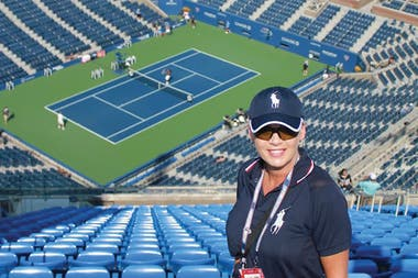 US Open. Quién es la jueza de línea que recibió el pelotazo de Djokovic.