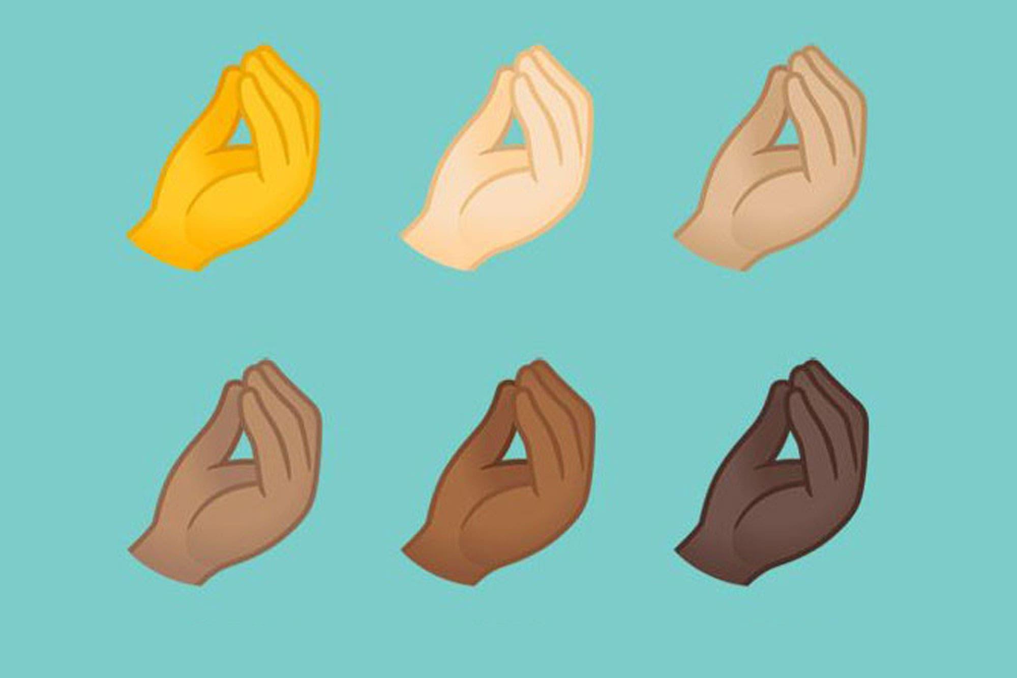 Montoncito: el emoji del gesto italiano ya está disponible en Android 11 de Google