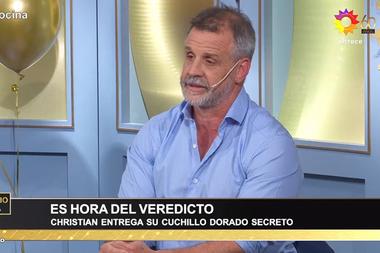 "Christian Petersen explicó que decidir entre Dana y Matías era ""angustiante"""
