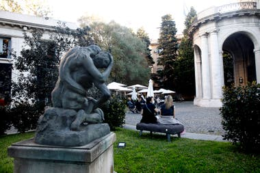 Palaciegos y premiados, los jardines del Museo Nacional de Arte Decorativo son una obra de arte en sí misma