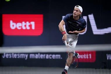 Diego Schwartzman está a un paso de lograr su clasificación al Masters de Londres