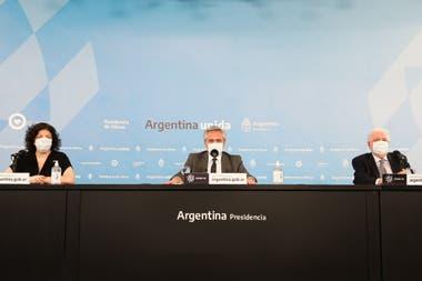 Alberto Fernández anunció que el Gobierno espera empezar a vacunar a la población en diciembre