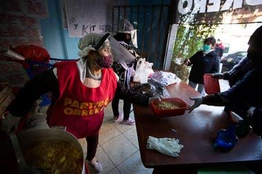Los comedores comunitarios están más demandados por la crisis derivada de la pandemia