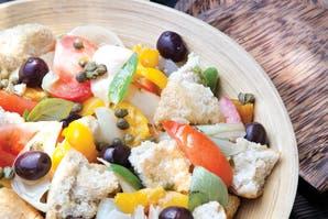Panzanella o ensalada rústica