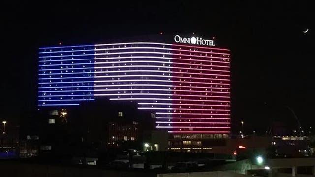 El Omni Hotel en Dallas. Foto: @alonso_quixano
