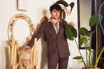 Alejandro Gómez Palomo. El andaluz que exhibirá sus diseños genderless en el Met