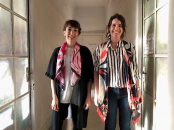 Dos diseñadoras convirtieron una firma de pañuelos en una marca de ropa sustentable