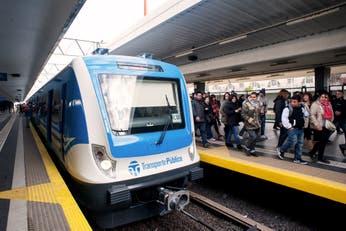 Trenes restringidos desde hoy y hasta el lunes