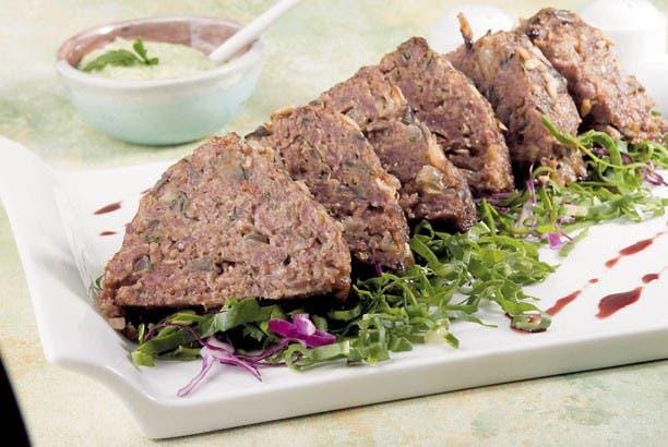Receta de Pan de carne de cordero