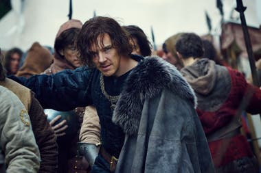 Benedict Cumberbatch en The Hollow Crown: La Guerra de las Rosas. Film&Arts