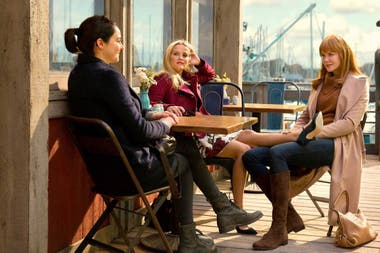 Shailene Woodley, Reese Witherspoon y Nicole Kidman en Big Little Lies