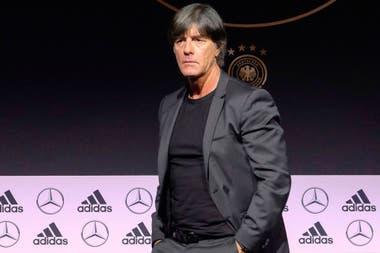 Löw programó dos amistosos para Alemania, el campeón defensor