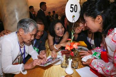 Después de más de 60 años sin verse las familias vivieron con profunda emoción el encuento