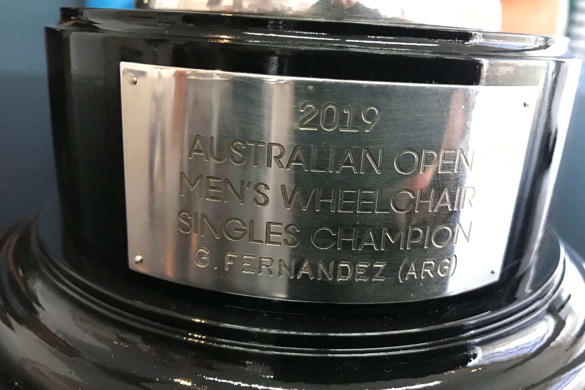 """Gustavo Fernández, luego de ganar el Abierto de Australia: """"En mi cabeza está tratar de volver al número 1"""""""