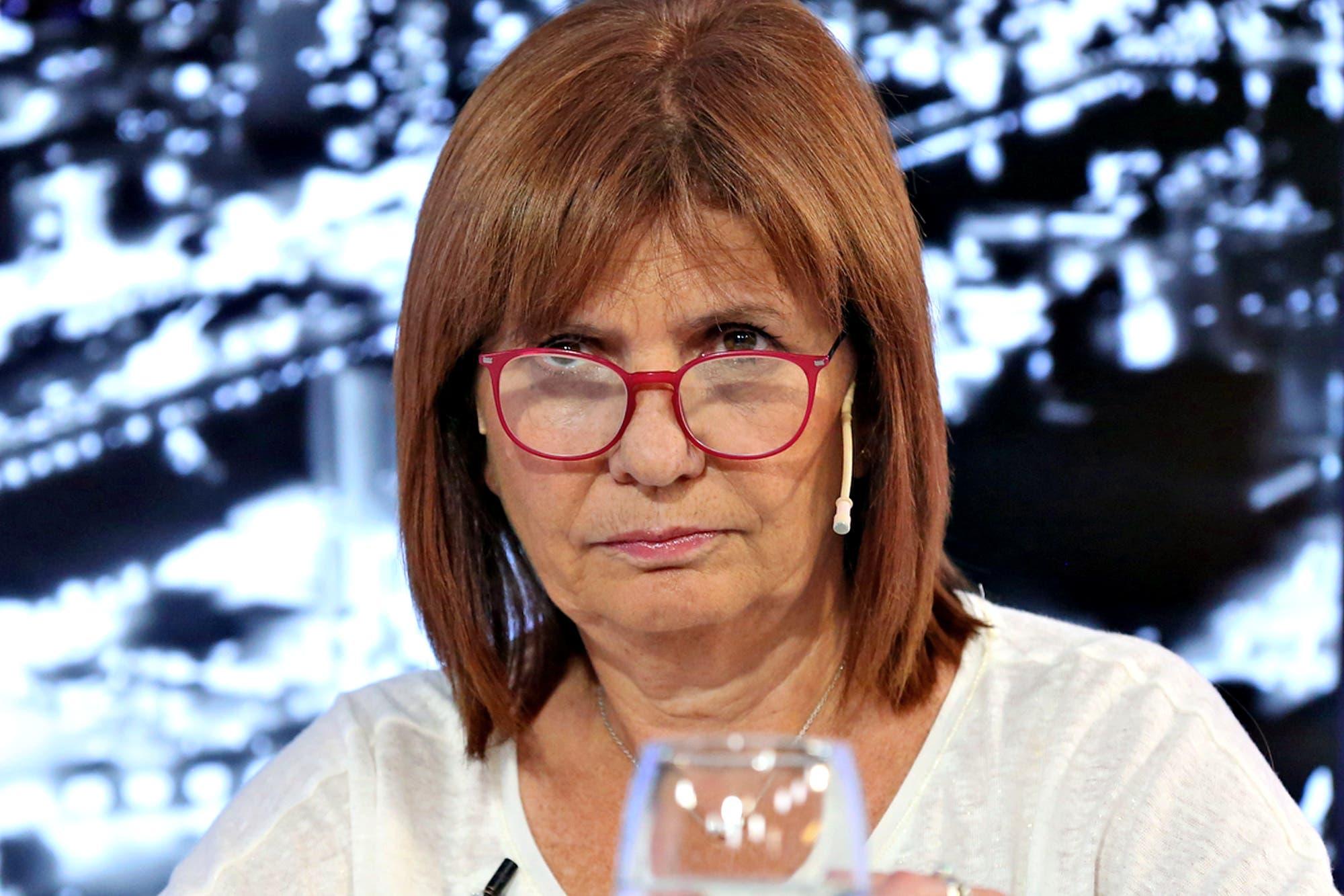 """Patricia Bullrich rechazó la derogación e los protocolos de seguridad: """"Consagran los derechos de los criminales"""""""