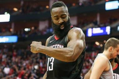 James Harden, el jugador franquicia de Houston Rockets quiere arrebatarle el trono a Golden State