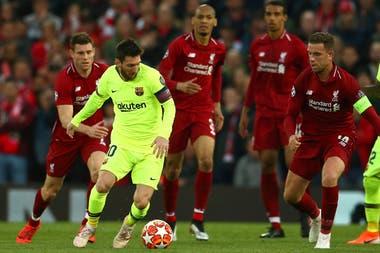 d20724c5258d Los videos de las jugadas de gol que tuvo Messi en la derrota y eliminación  de Barcelona ante Liverpool