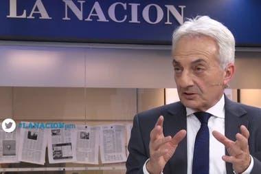 El director de YPF, Emilio Apud