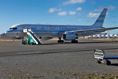 Avión presidencial Tango 01