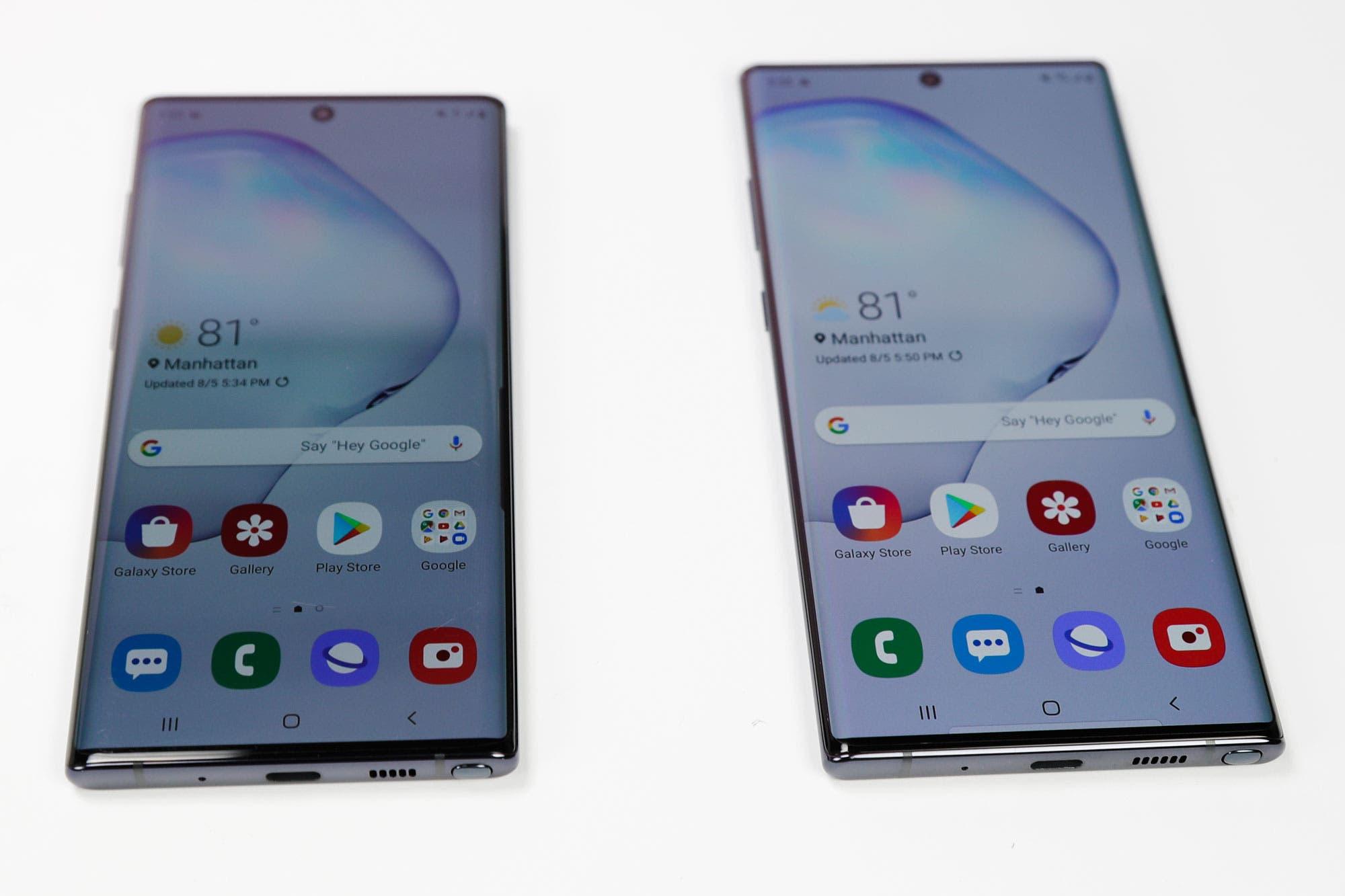 Con el Galaxy Note10, Samsung quiere renovar su vidriera