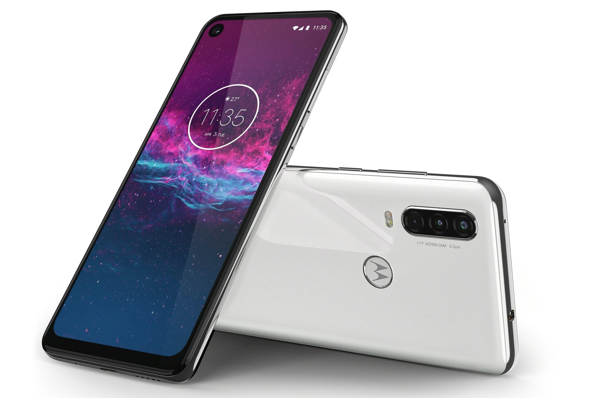 Motorola One Action: así es el nuevo smartphone con triple cámara trasera para mejorar los videos