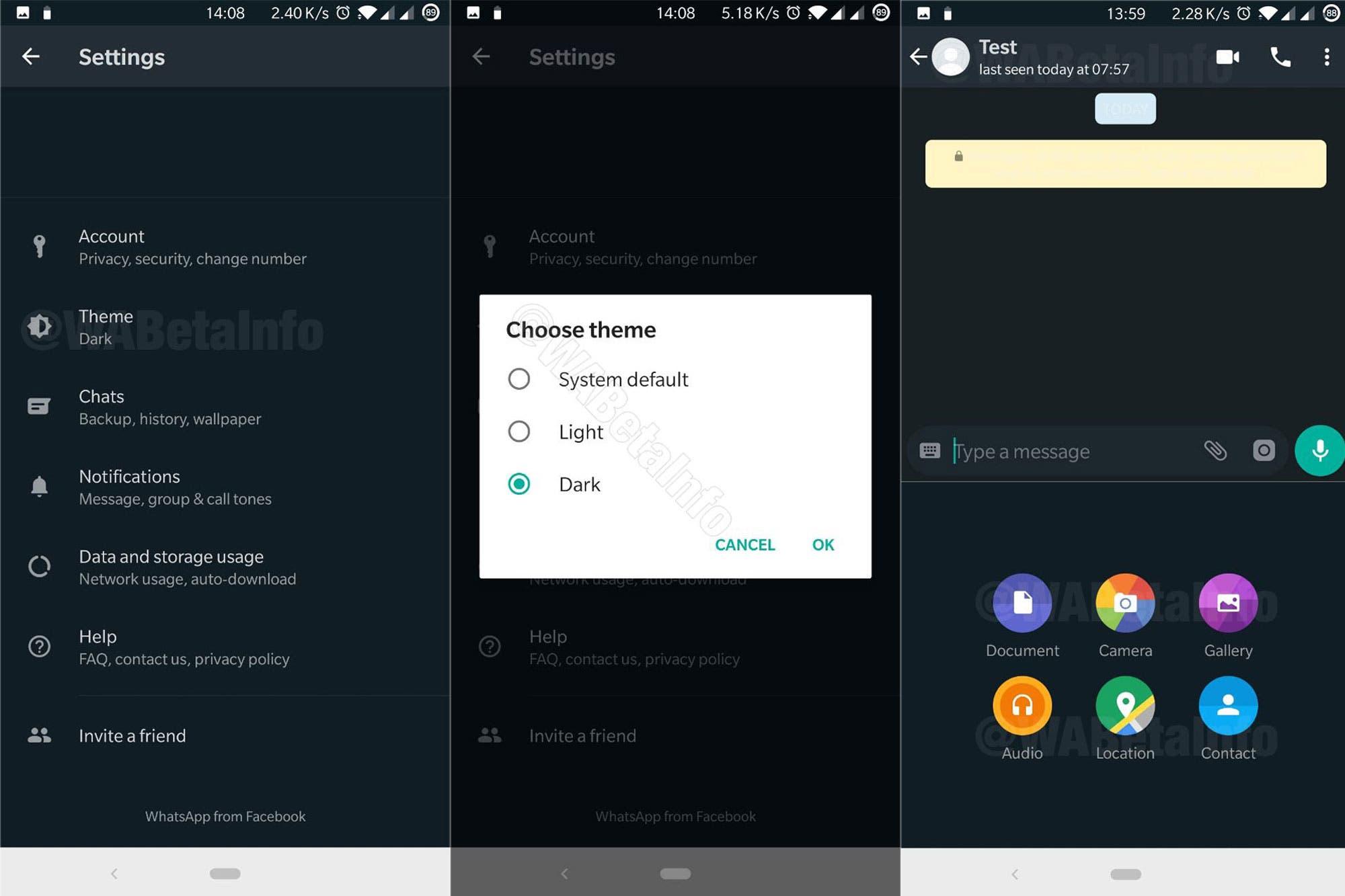 Modo oscuro y mensajes que se autoeliminan: las funciones que tendrá WhatsApp en 2020