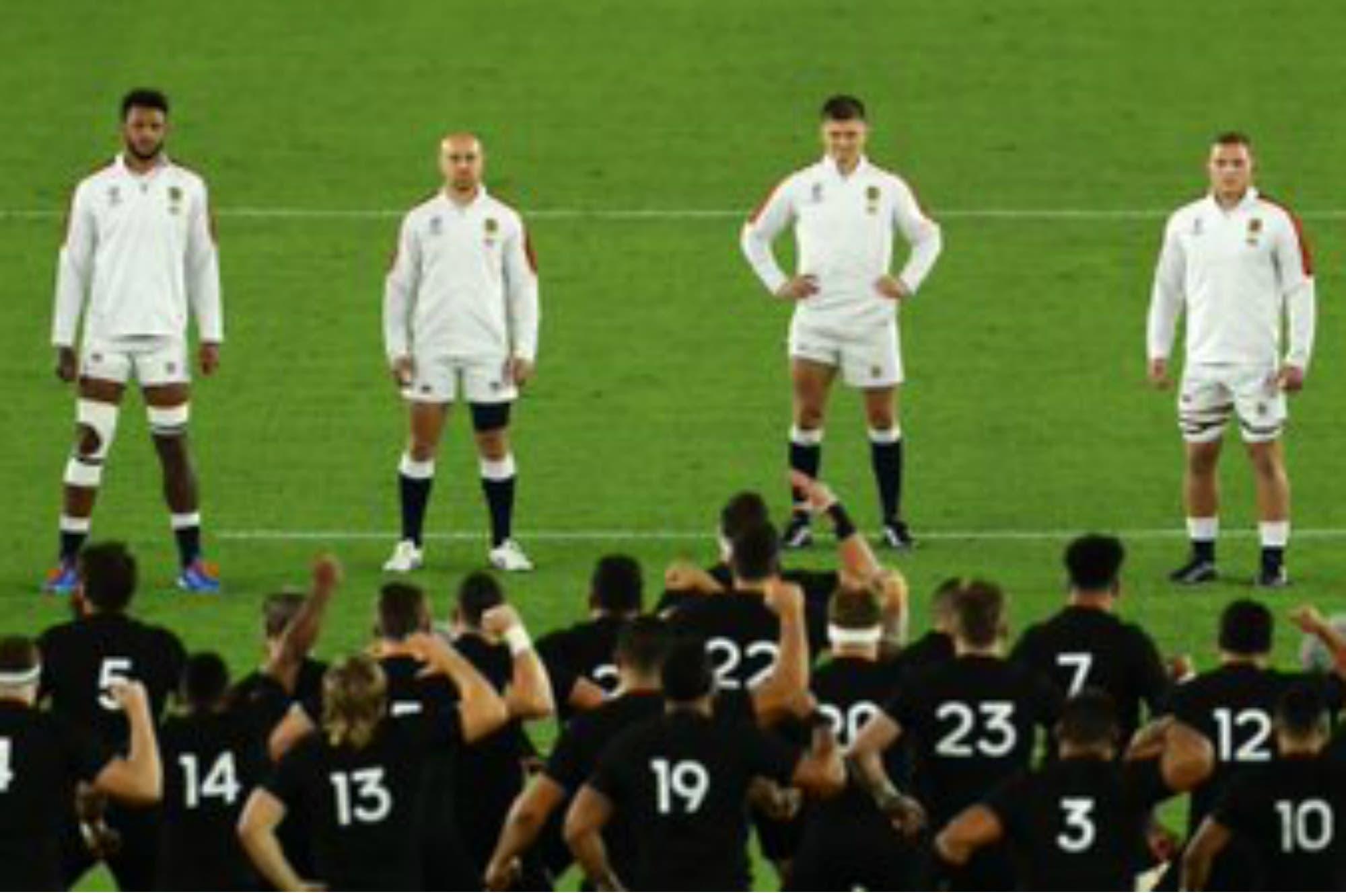 Mundial de rugby. Cómo reaccionó Inglaterra ante el Haka de los All Blacks y el respeto del final