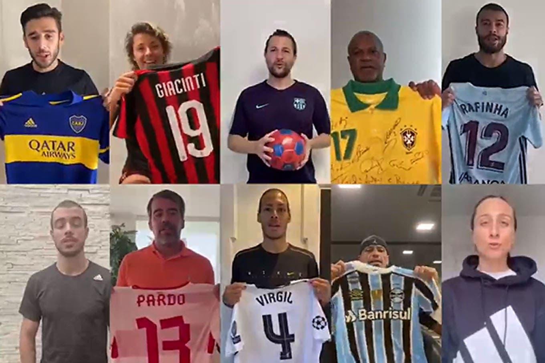 Coronavirus. #TheBiggestGame, la campaña que organiza Papu Gómez: subasta de camisetas históricas de más de 100 jugadores