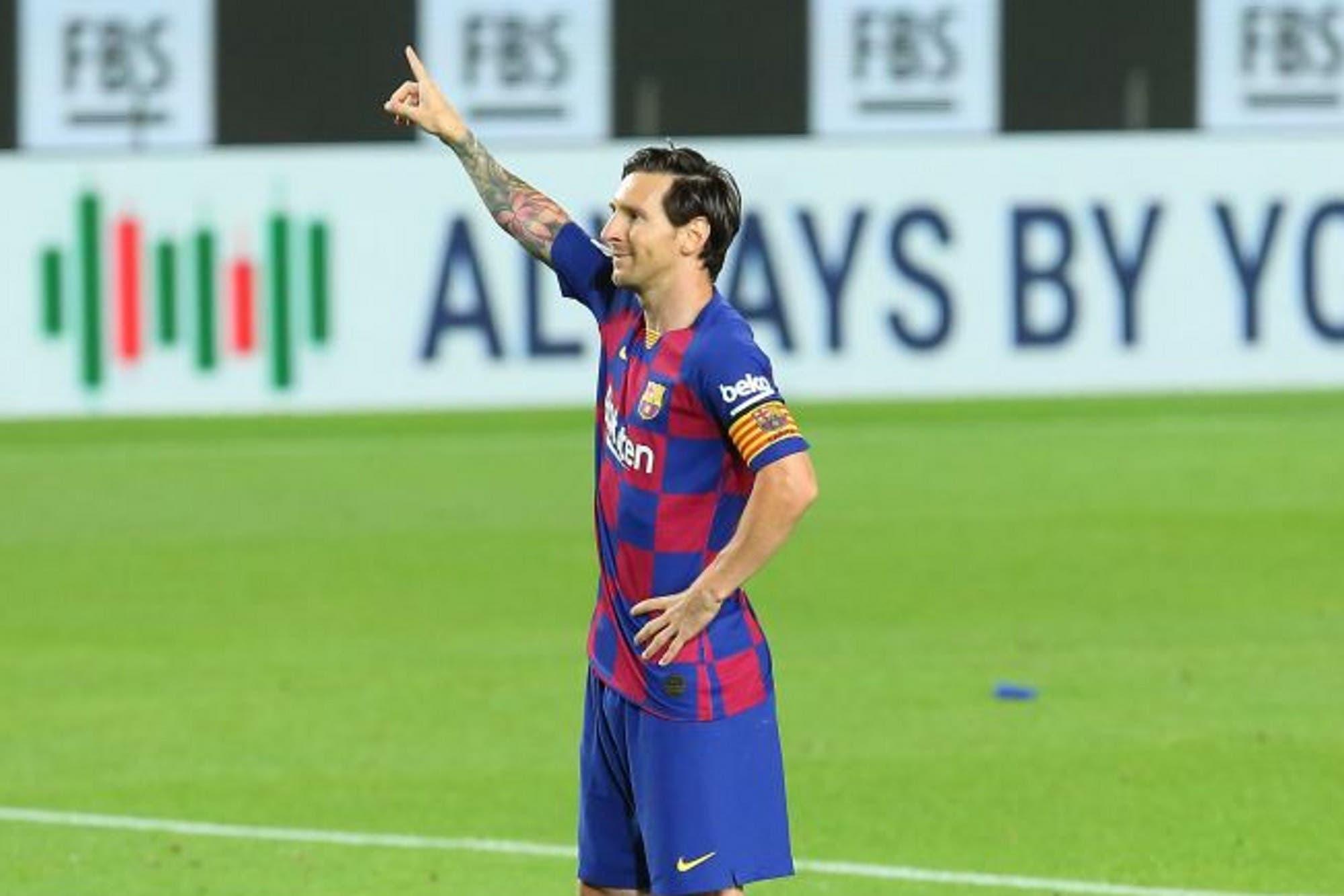 Lionel Messi fue otra vez la figura y marcó un gol en el triunfo de Barcelona 2-0 sobre Leganés