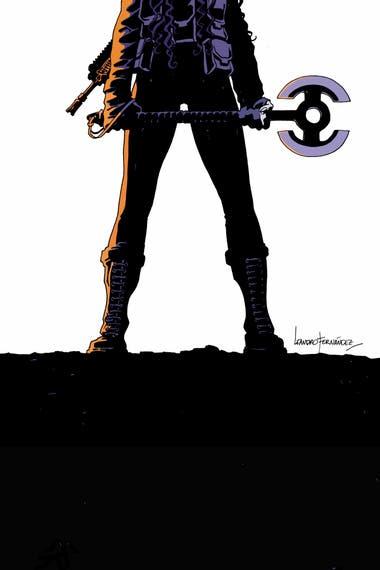 """""""Son inmortales, seres del pasado que viven en el presente"""", define Fernández a los personajes del cómic que hizo junto con Greg Rucka"""