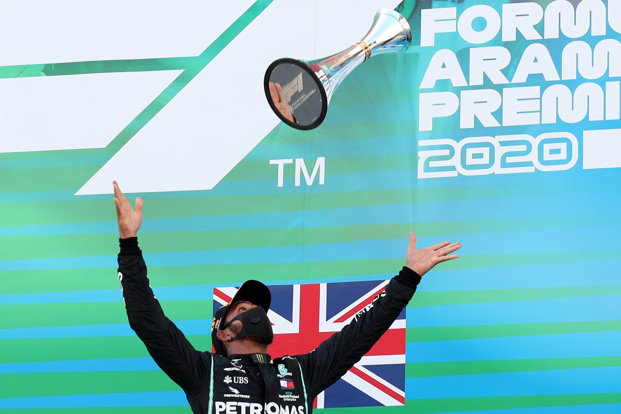 Fórmula 1. Lewis Hamilton, el demoledor: arrasó en Montmeló después de aprender la lección de Silverstone