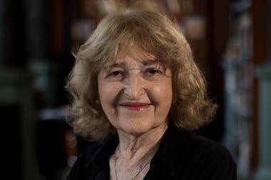 La ahora ex viceministra de Educación, Adriana Puiggrós