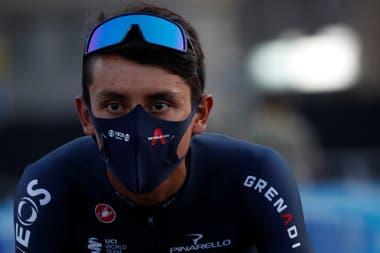 Egan Bernal, defensor del cetro, que en 2019 se convirtió en el primer colombiano campeón de la prueba de ciclismo más importante del planeta.