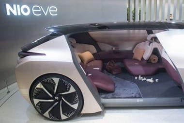 El prototipo más futurista de NIO se llama EVE