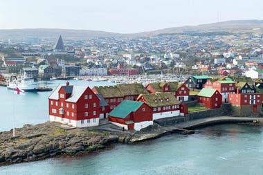 Tórshavn: el pueblo capital de las islas Feroe.