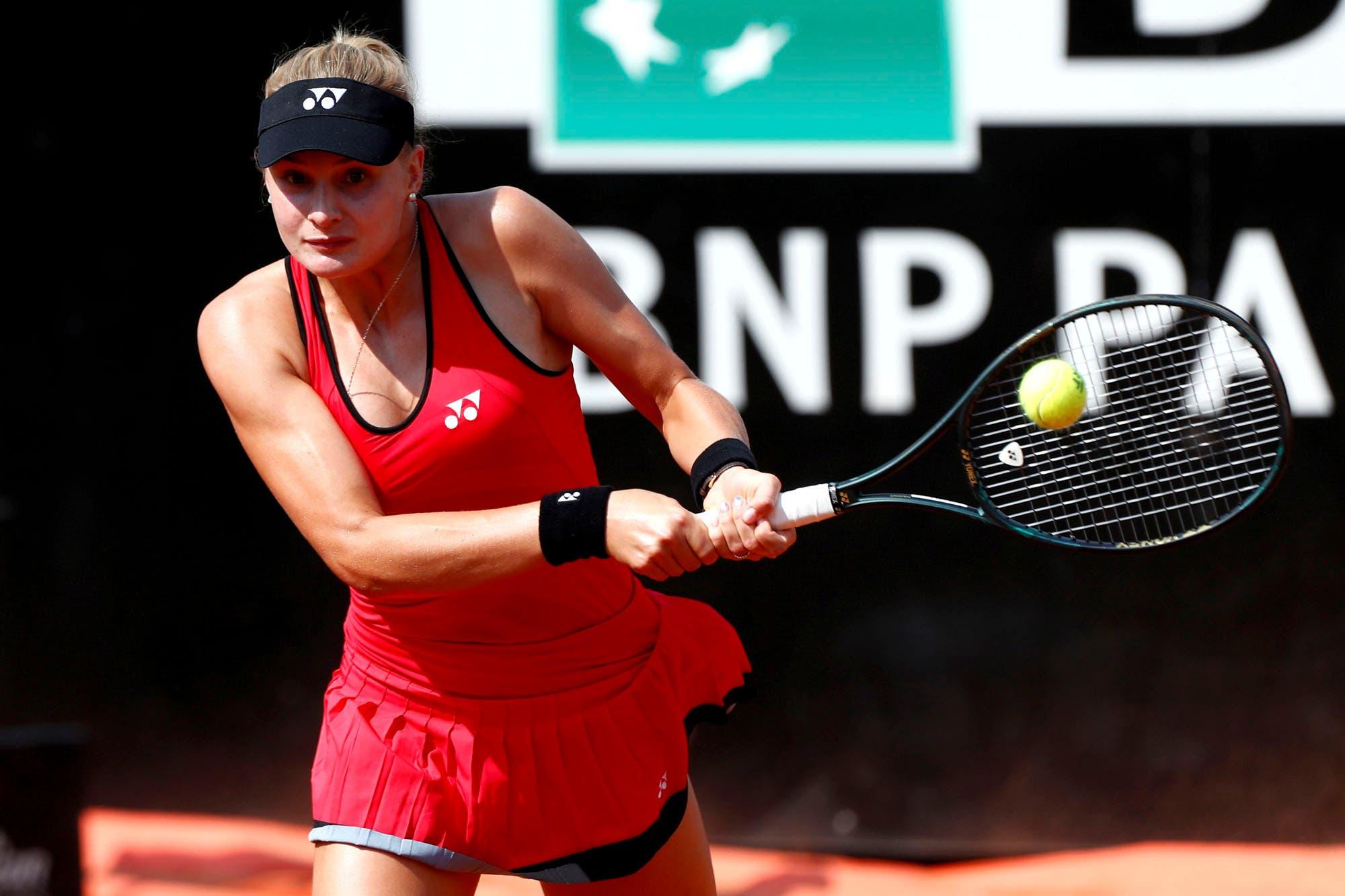 """La ucraniana Dayana Yastremska, la """"rapera"""" del tenis, fue suspendida provisionalmente por doping"""