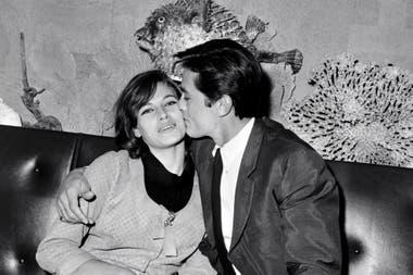 Los Delon en París, en 1967