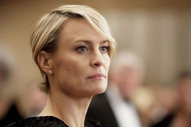 Robin Wright como Claire en House of Cards