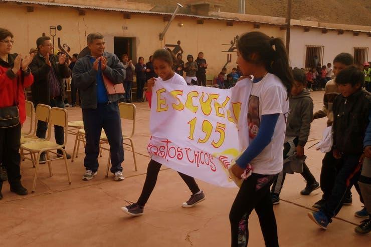 La escuela 195 de Pastos Chicos, Jujuy