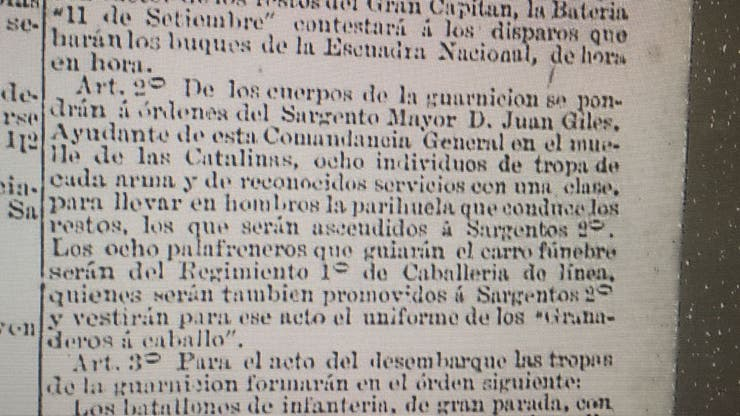La publicación de LA NACION de mayo de 1880