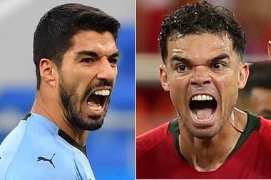 Suárez-Pepe, un duelo de alto voltaje en las áreas