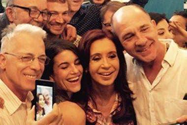Grandinetti despidió a Cristina Kirchner en Olivos en 2015