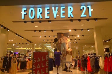Forever 21 se encuentra en una delicada situación financiera