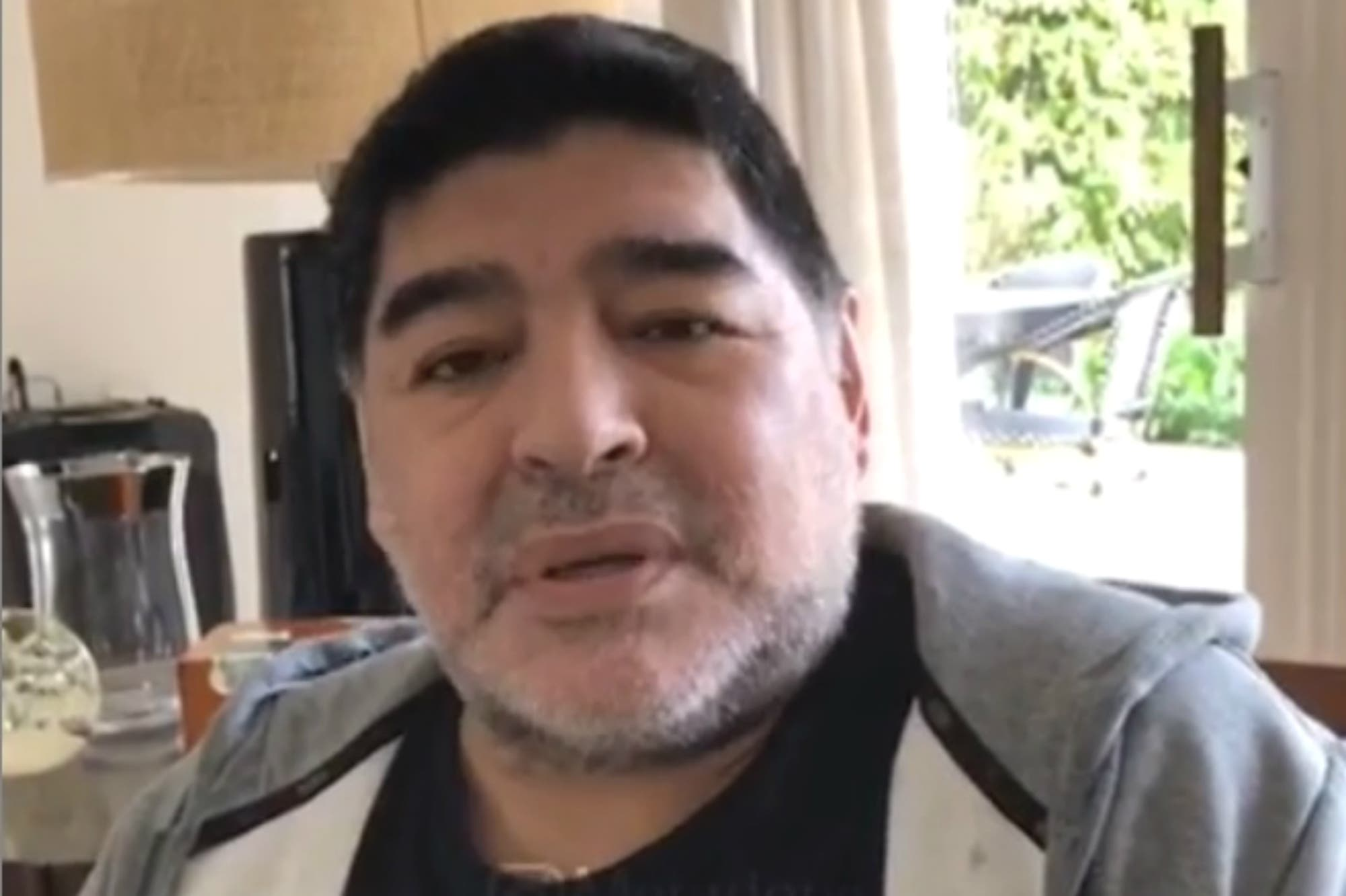 """El mensaje de Diego Maradona ante los rumores: """"Yo no me estoy muriendo"""""""