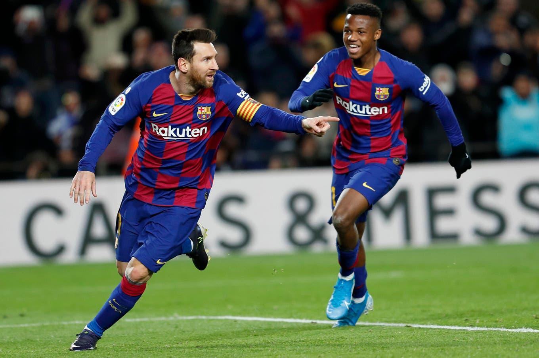 Barcelona-Granada: un gol de Messi le dio la victoria al Barça en el debut de Quique Setién
